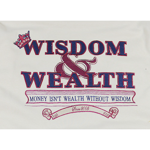 Wisdom and Wealth Sweat Shirt (Cream)