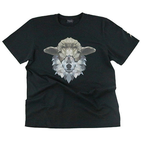 Wolf in Sheep's Clothing Short Sleeve Shirt (Black)