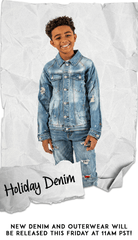 New Limited Denim Washes!