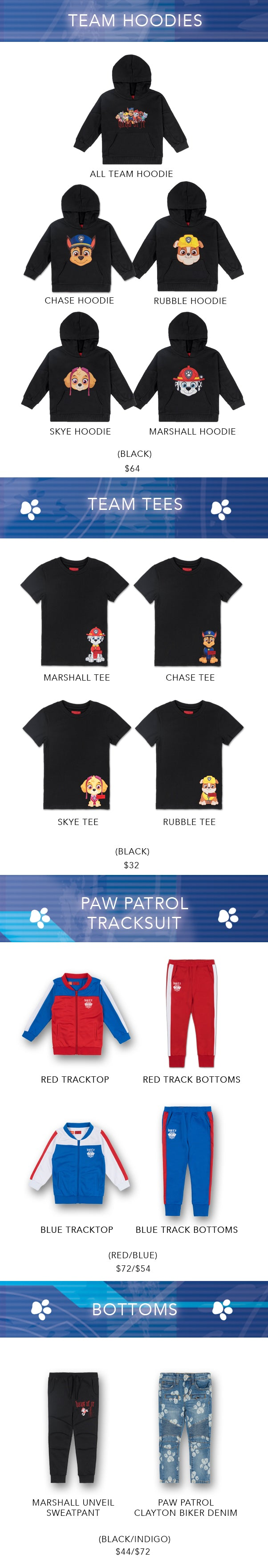 Haus Of JR X Paw Patrol (Lineup)