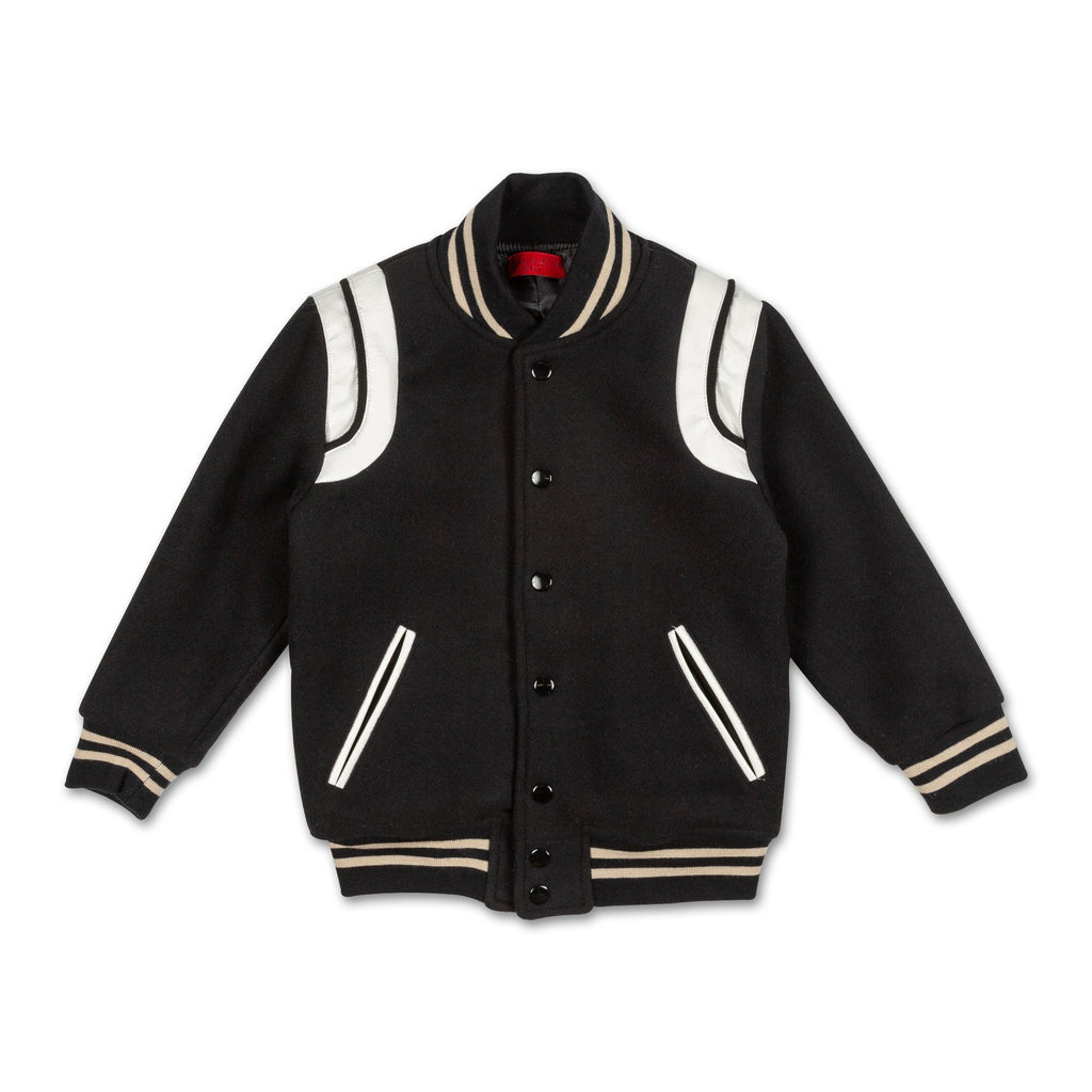 Alfie Wool Varsity Jacket - Haus of JR