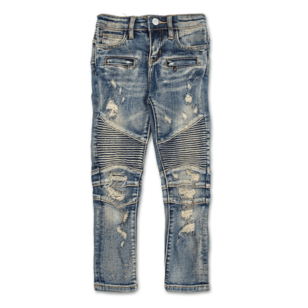 Kashton Biker Denim - Haus of JR
