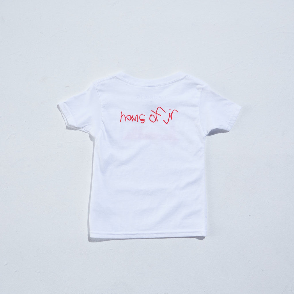 Banned LA Tee (White) Tops Haus of JR
