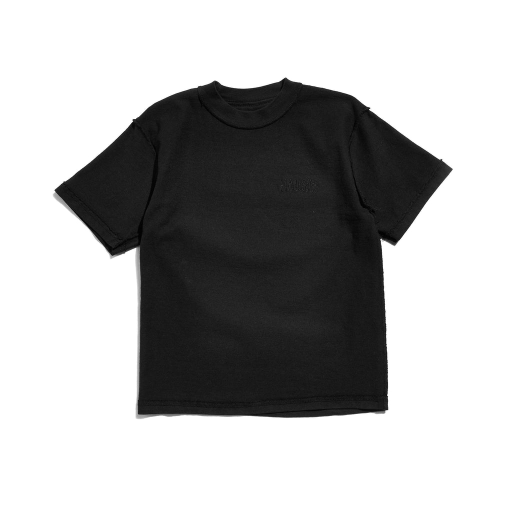 Flipped Out Tee (Black) Tops Haus of JR