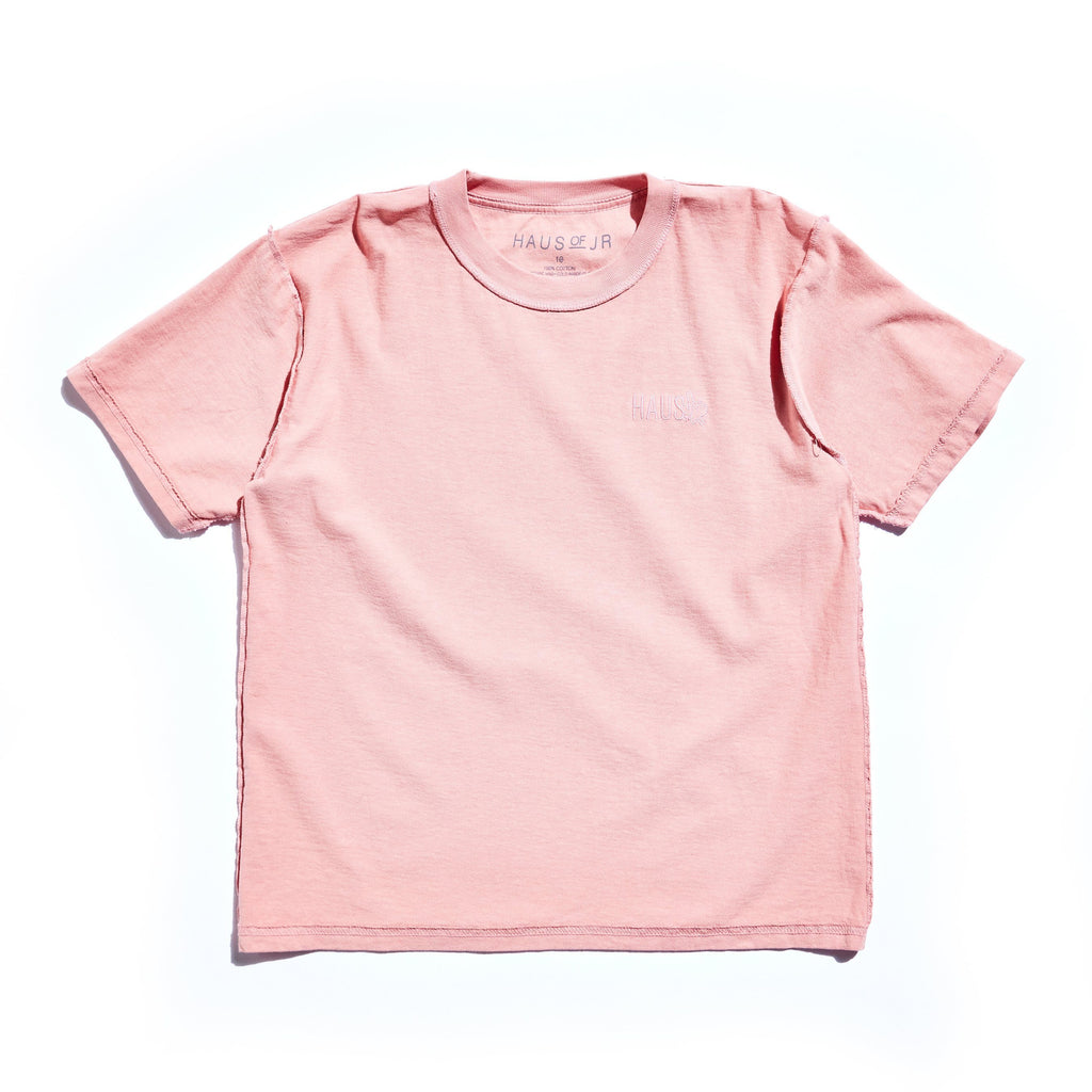 Flipped Out Tee (Pink) Tops Haus of JR