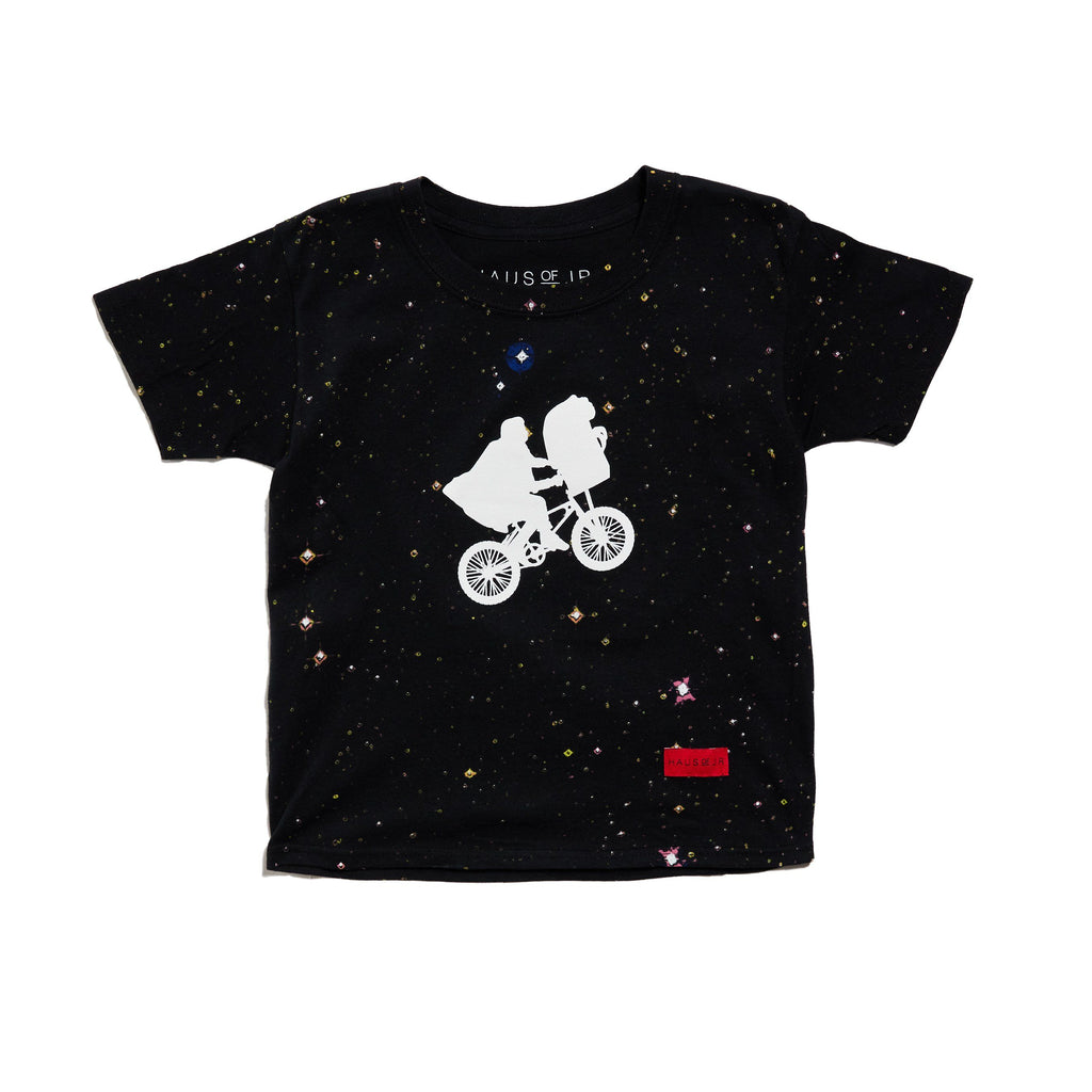 Galaxy Tee (Black) Tops Haus of JR
