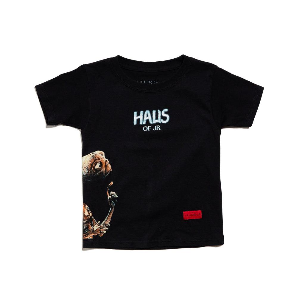 Chrome Tee (Black) Tops Haus of JR
