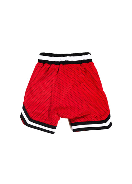 Wyst Basketball Shorts (Bulls Red) - Haus of JR