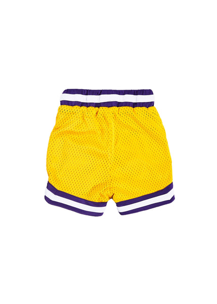 Wyst Basketball Shorts (Lakers Yellow) - Haus of JR