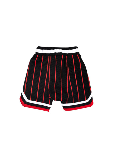 Wyst Basketball Shorts (Bulls Stripe Red) - Haus of JR