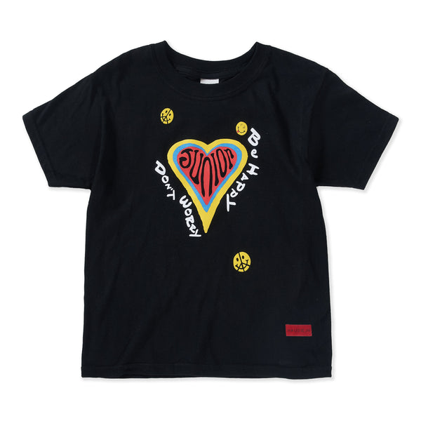 Don't Worry Be Happy Tee (Black) - Haus of JR