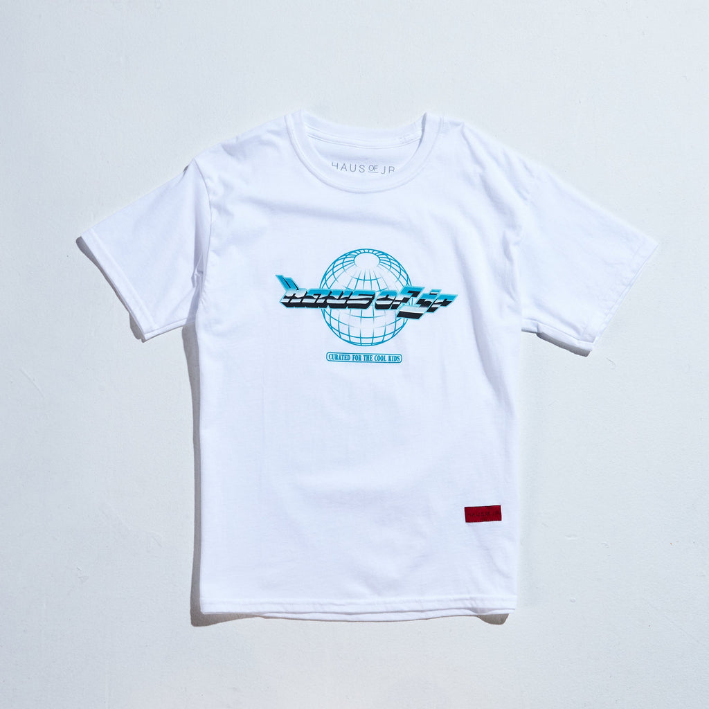 Worldwide Tee (White) Tops Haus of JR