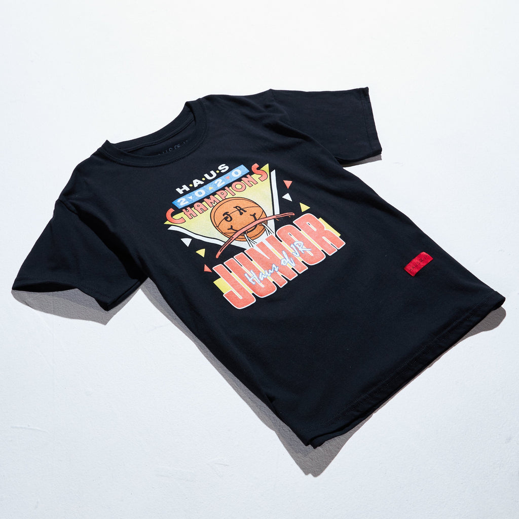 Champions Tee (Black) Tops Haus of JR