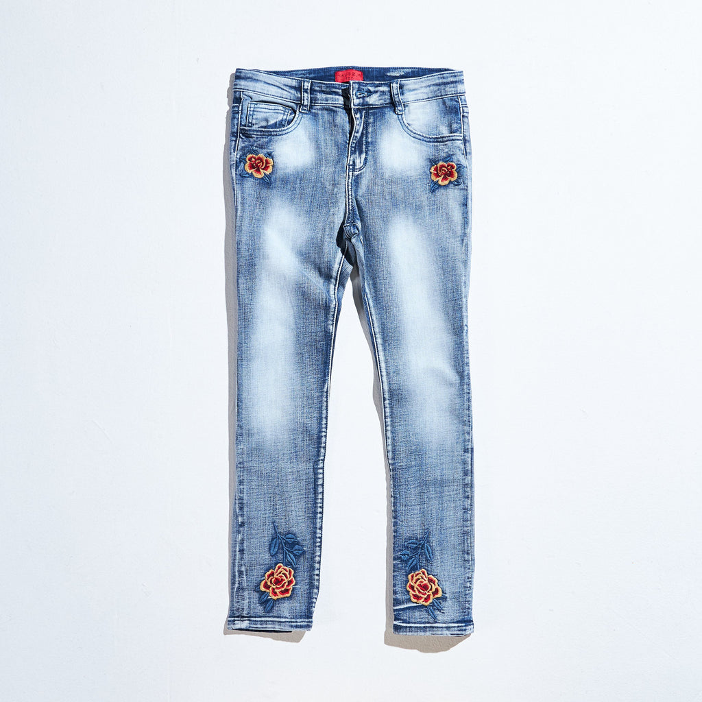 Ettore Chainstitch Denim (Indigo) Bottoms Haus of JR