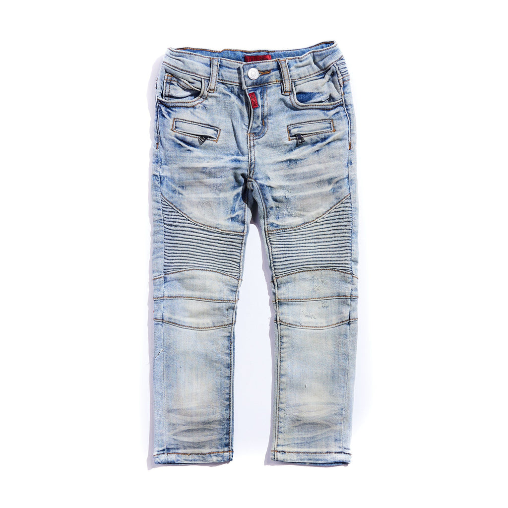 Declan Biker Denim Bottoms Haus of JR