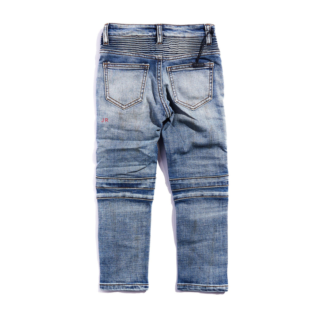 Arlo Biker Denim Bottoms Haus of JR