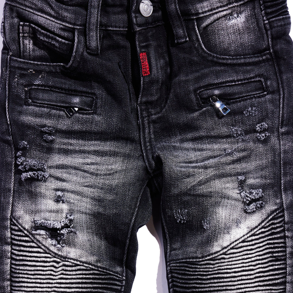 Cullen Biker Denim Bottoms Haus of JR