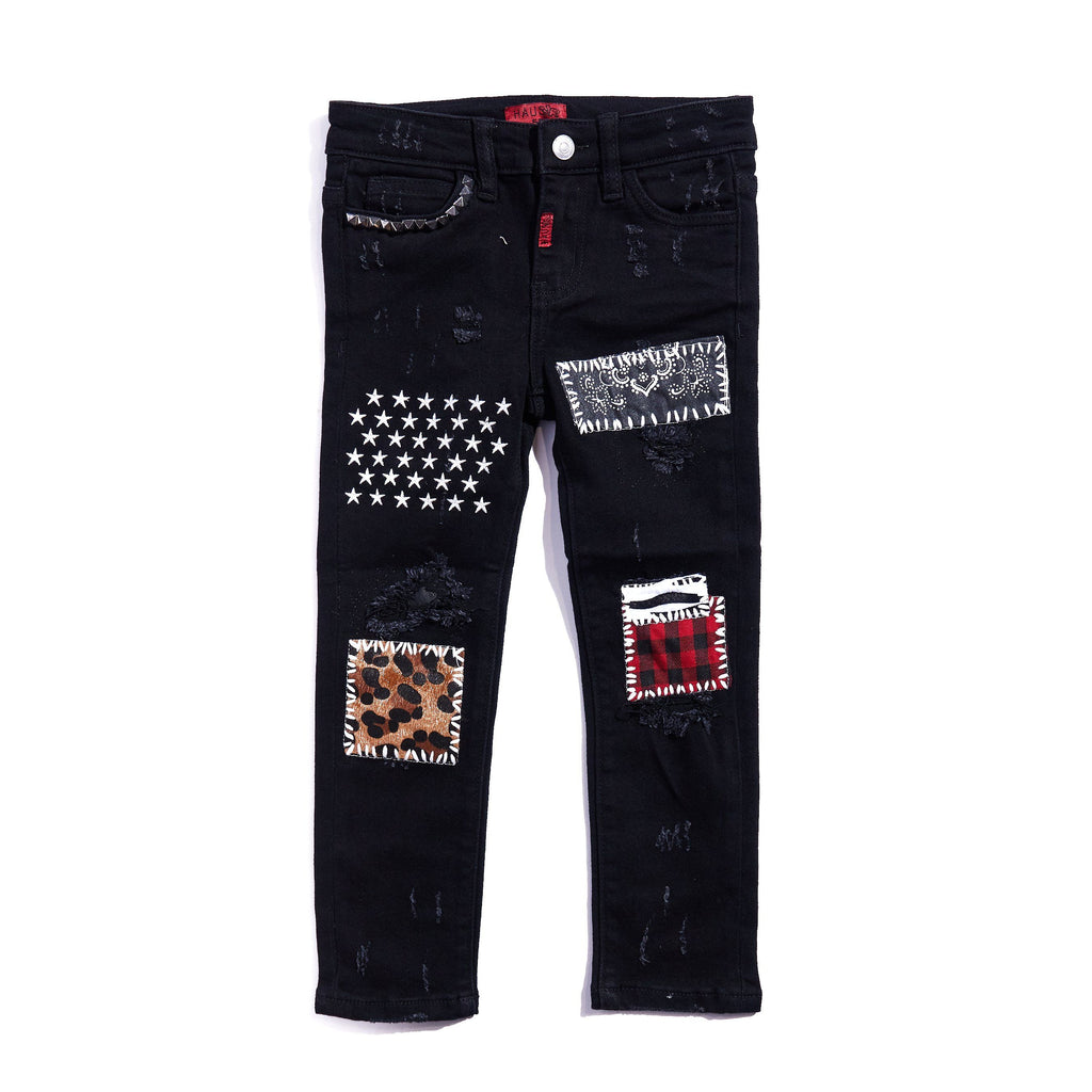 Oliver Denim (Black) Bottoms Haus of JR