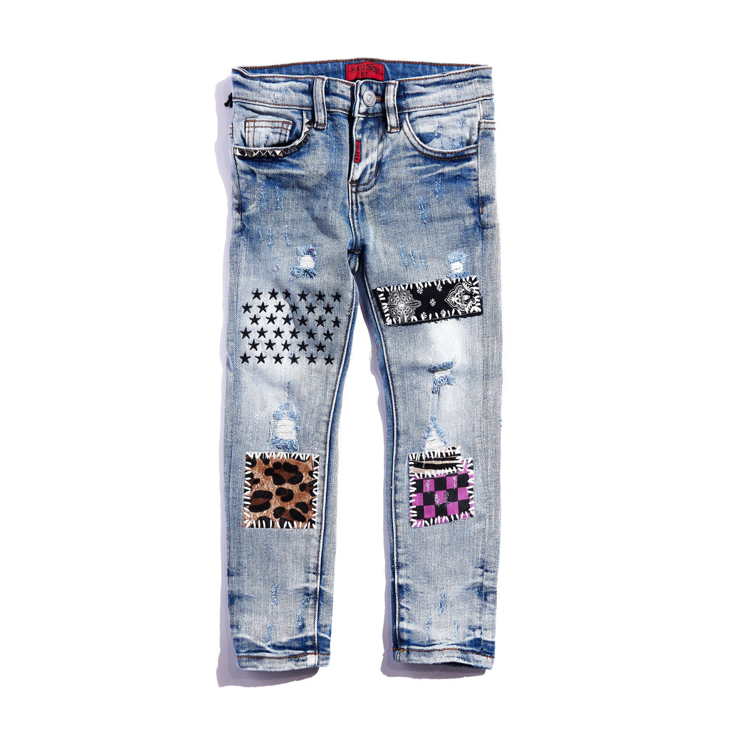 Oliver Denim (Blue) Bottoms Haus of JR