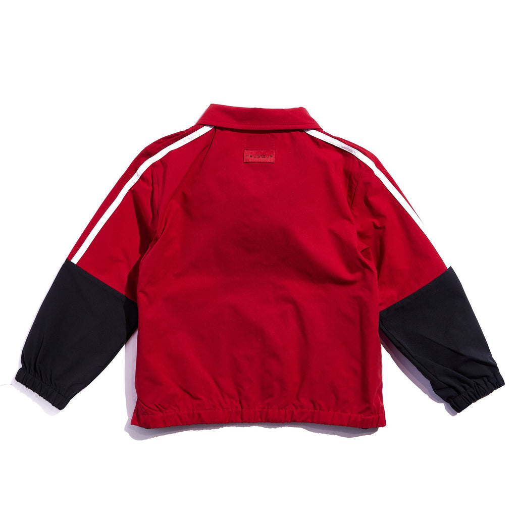 Julian Track Jacket (Red) Outerwear Haus of JR