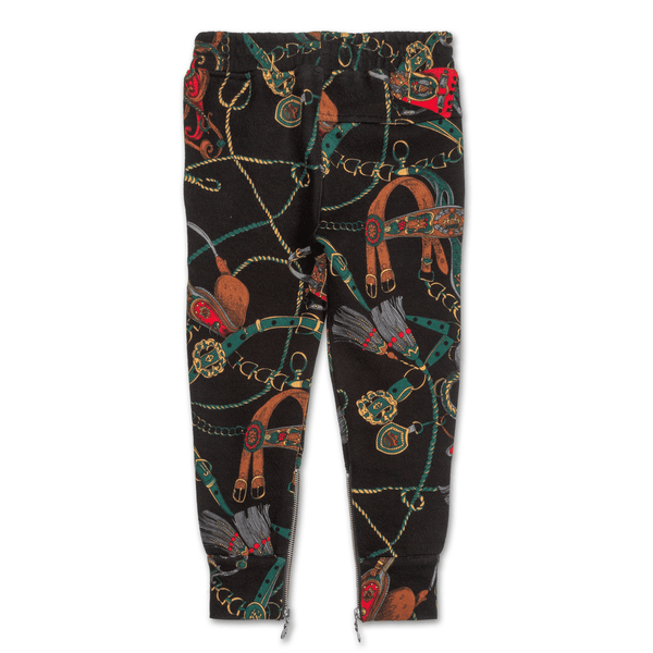 Natica Miles Sweatpant (Black) - Haus of JR