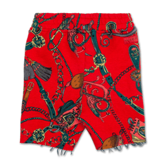 Natica Peanut Short (Red) - Haus of JR
