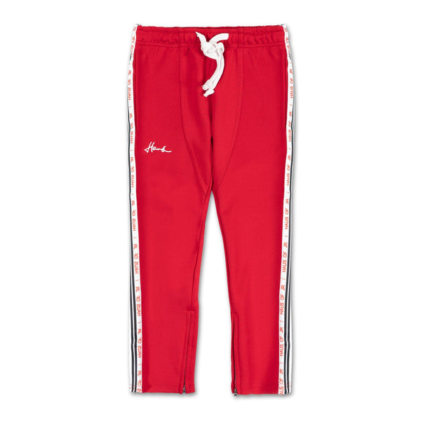 Laurent Track Pant (Red) - Haus of JR
