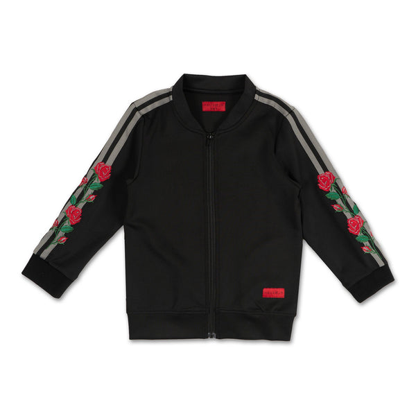 Christian Track Jacket (Black) - Haus of JR