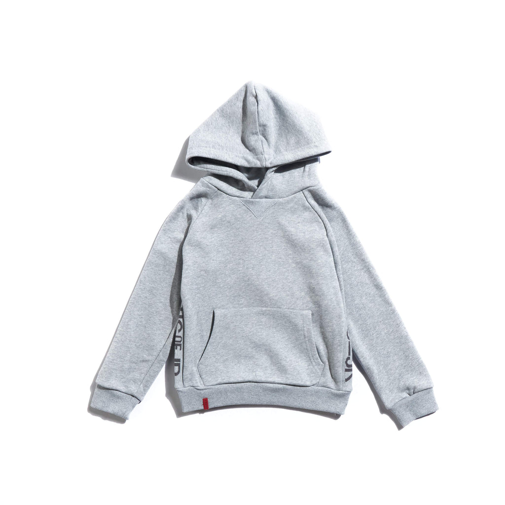Allen Staple Hoodie (Grey) Tops Haus of JR