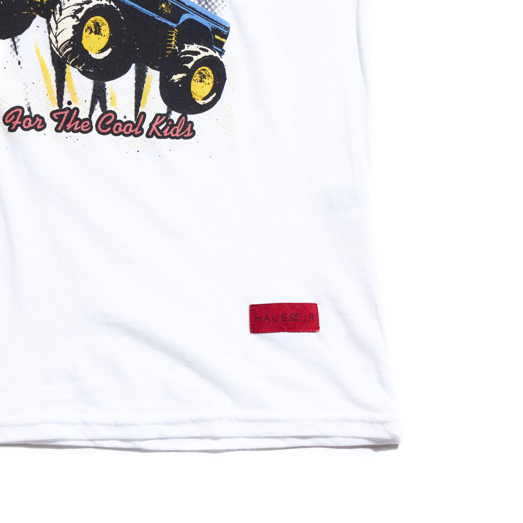 Bigfoot Tee (White) Tops Haus of JR