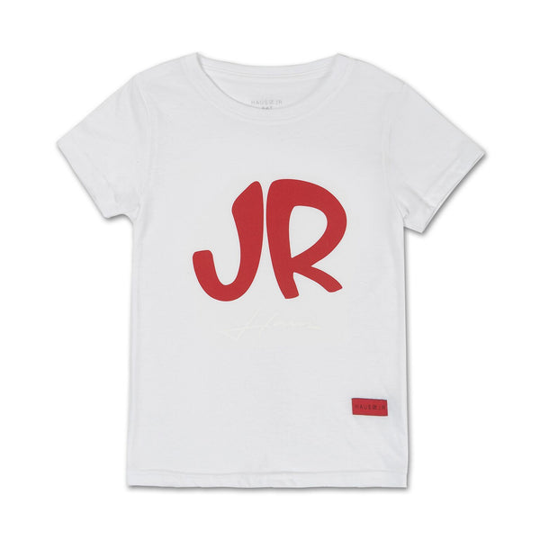 Big JR Tee (White) - Haus of JR