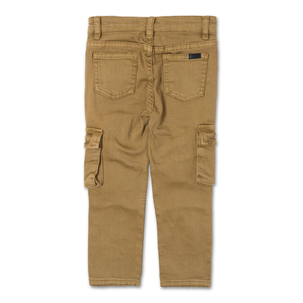 Clayton Cargo Biker Denim (Brown Overdye) - Haus of JR