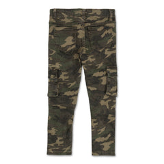 Clayton Cargo Biker Denim (Camo Overdye) - Haus of JR