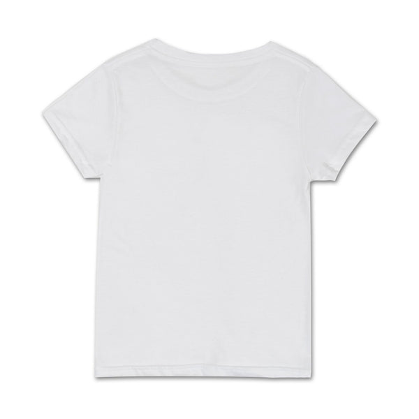 Collegiate Tee (White) - Haus of JR