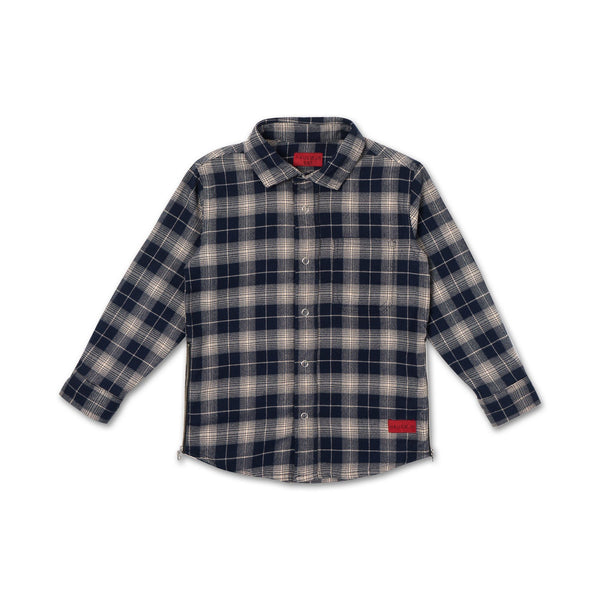 Edgar Zip Flannel - Haus of JR