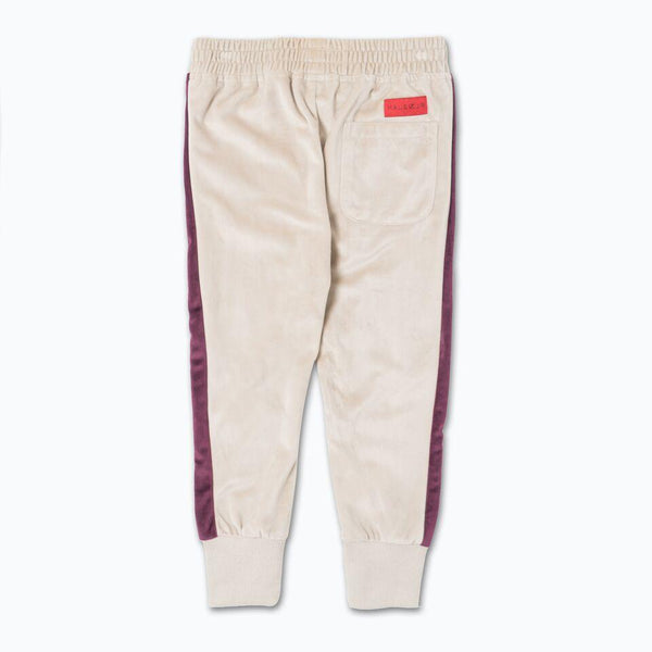 Francisco Track Pant (Maroon/Creme) - Haus of JR