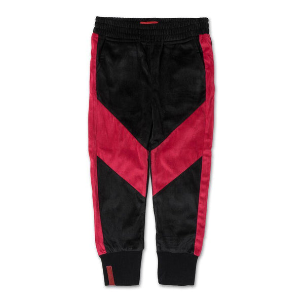 Francisco Track Pant (Black/Red) - Haus of JR