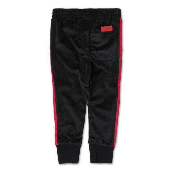 Francisco Track Pant (Black/Red)