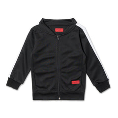 Harry Track Top (Black) - Haus of JR