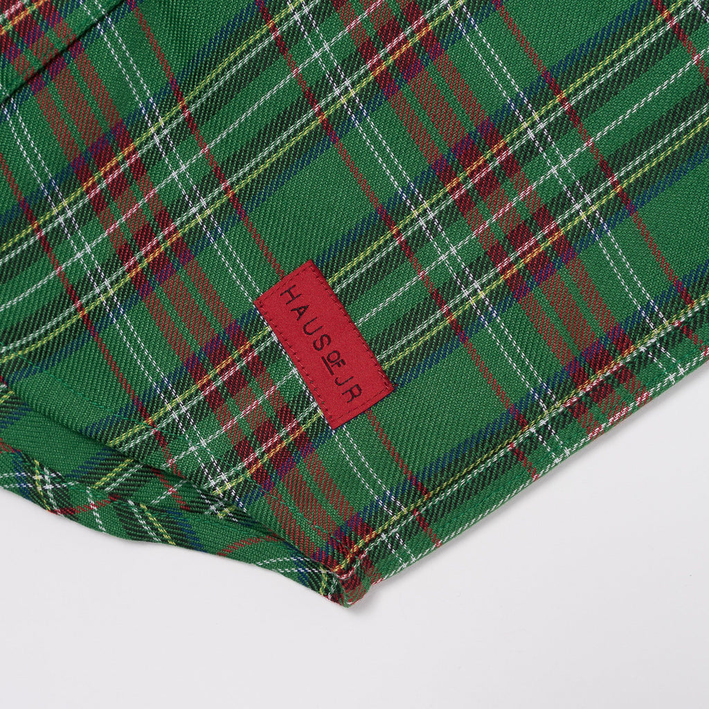 George S/S Flannel (Green) - Haus of JR