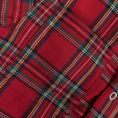 George S/S Flannel (Red) - Haus of JR