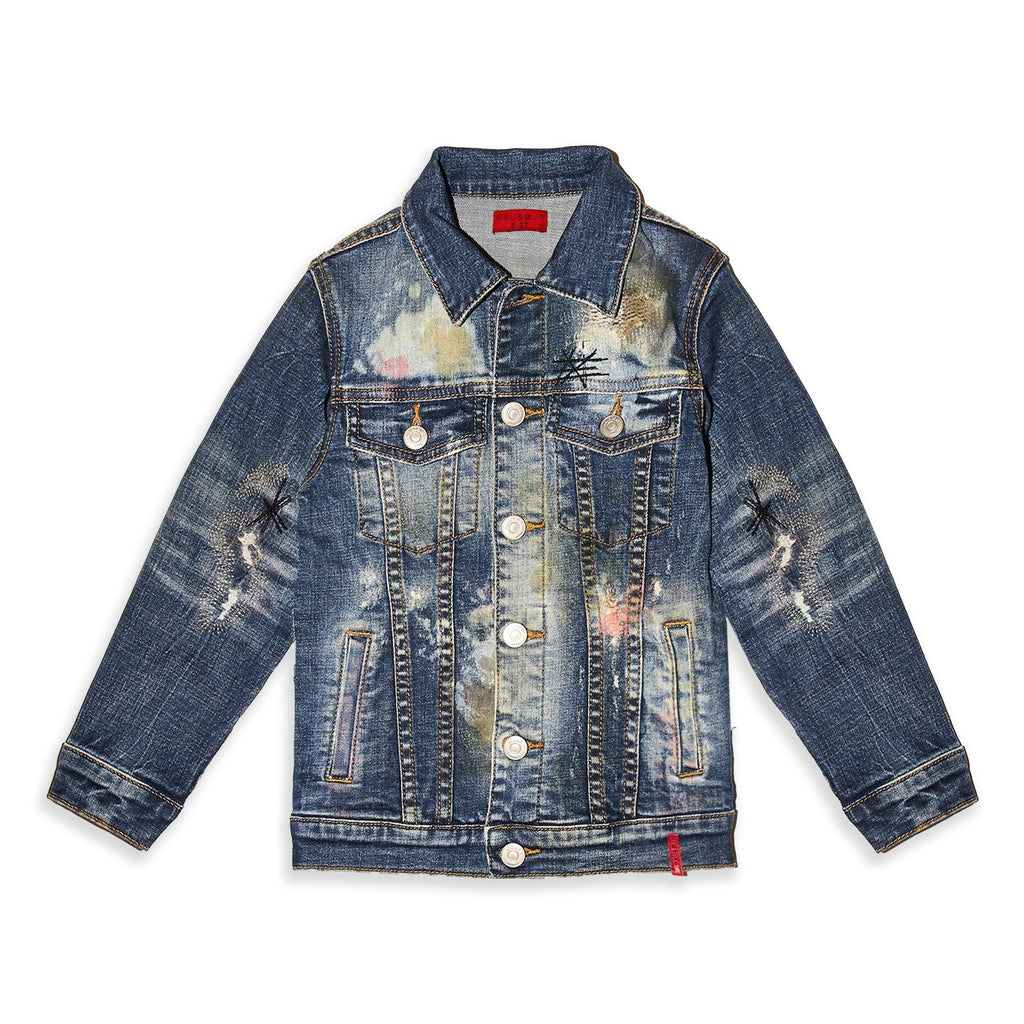 Basquiat Denim Jacket - Haus of JR