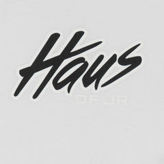 Haus Script Tee (White) - Haus of JR