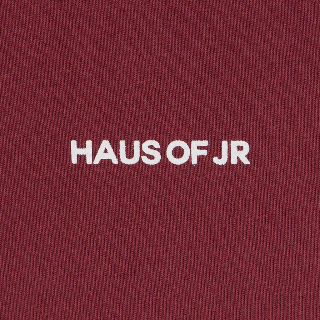 Hedi Tee (Burgandy) - Haus of JR
