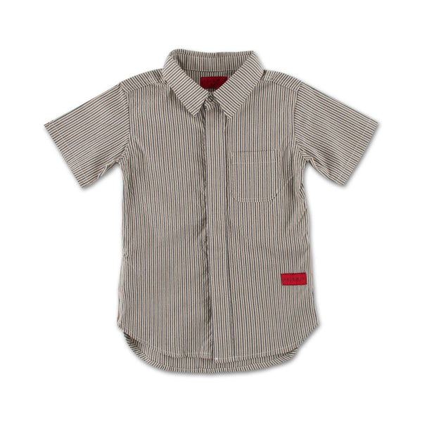 Daniel Button Up (Brown) - Haus of JR