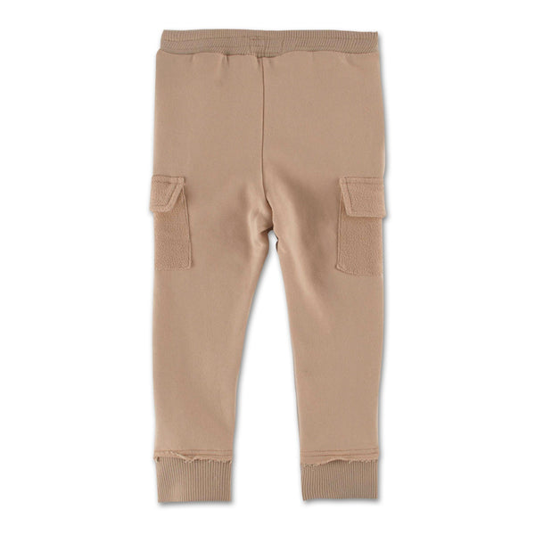 Oliver Cargo Sweatpant (Creme) - Haus of JR