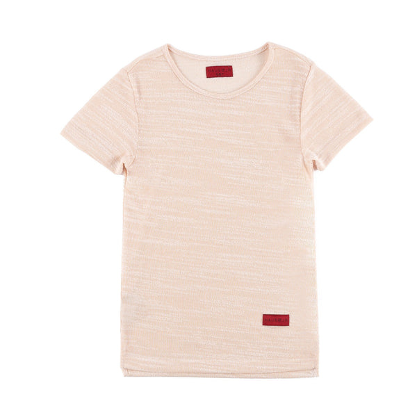 Mark Hi/Lo Short Sleeve Tee (Off White)
