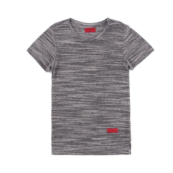 Mark Hi/Lo Short Sleeve Tee (Graphite)