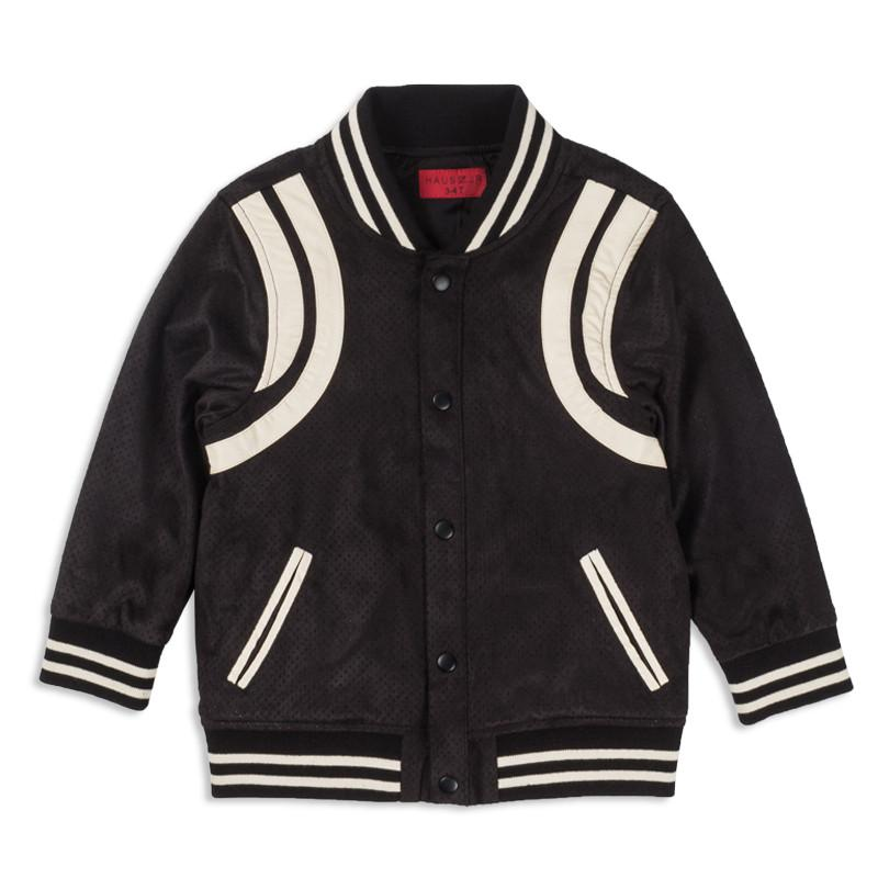 TEDDY JACKET (BLACK) - Haus of JR