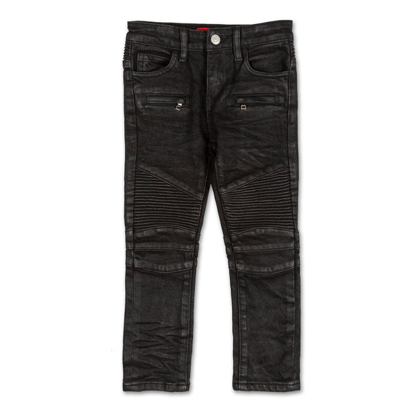 Frankie Waxed Biker Denim
